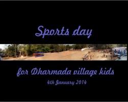 Sports day at Dharmada, India