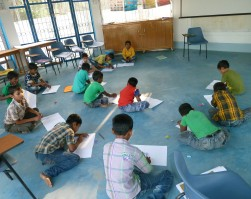 Weekly Drawing Classes started from February 2015